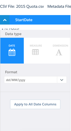 Working with Dates in Salesforce Wave