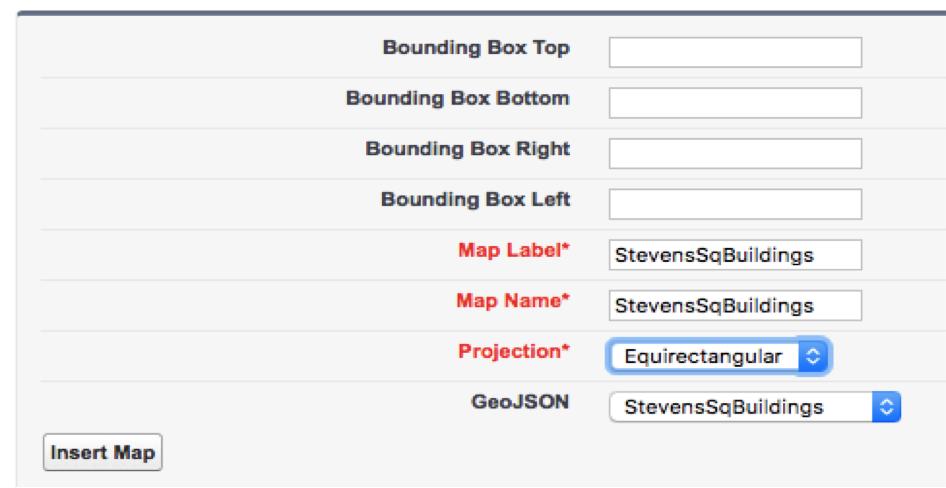 Turning Shapes into Maps (Geo JSON) in Einstein Analytics