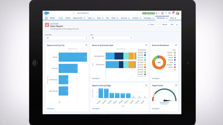 Embedding Einstein Analytics Dashboard In Salesforce