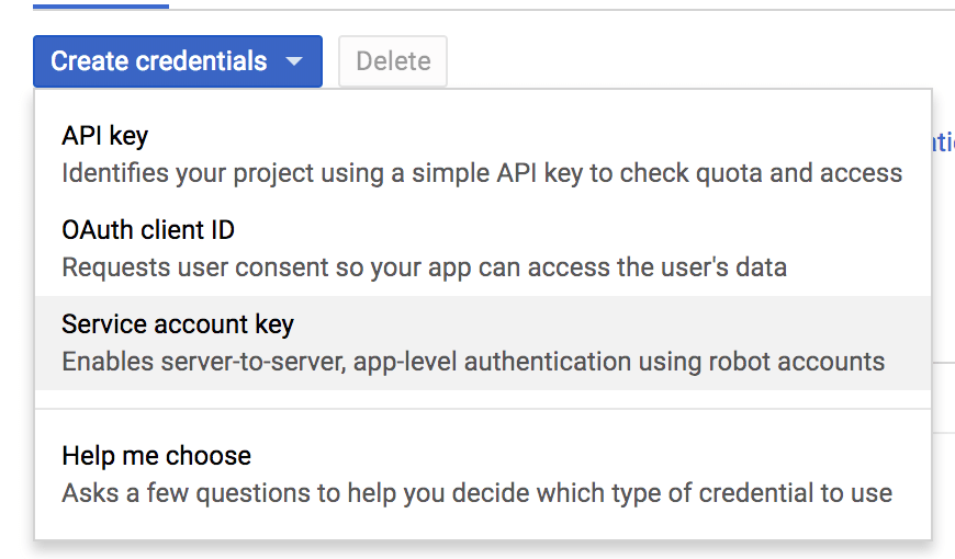 Obtaining Your API Key