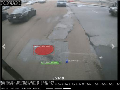 pothole snapshot