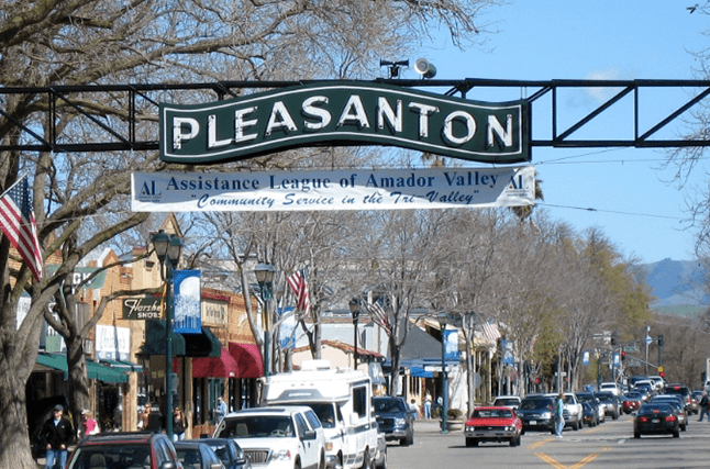 Pleasanton California