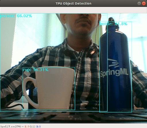 TPU object detection