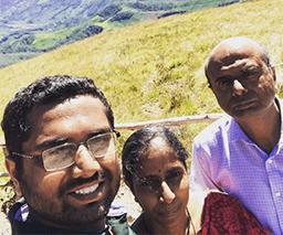 Sreekar Jamula Family