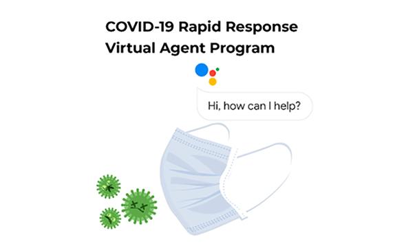 CORVID-19 Rapid Response Virtual Agent Program