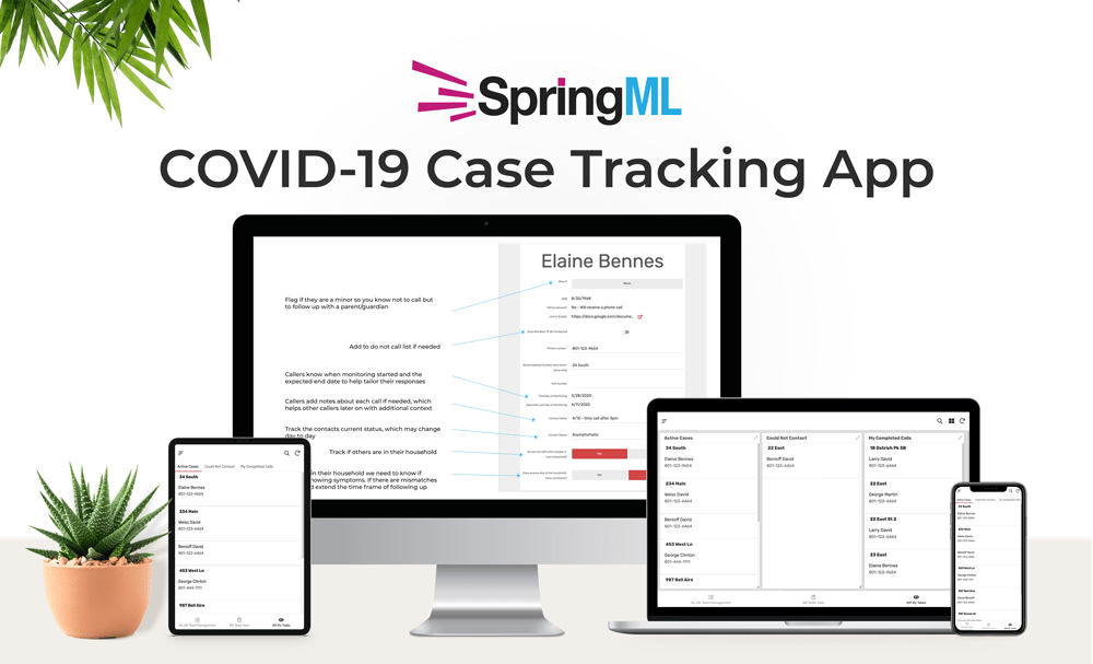 COVID-19 Case Tracking App