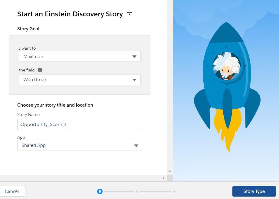 Einstein Discovery: Opportunity Scoring