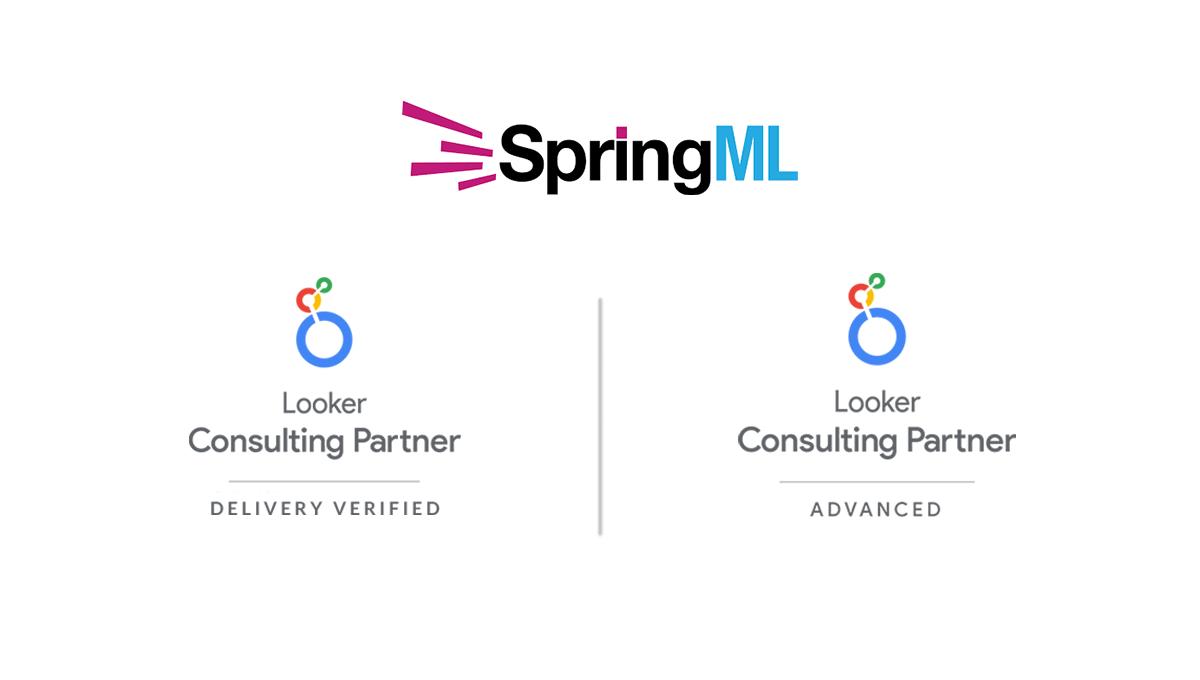 SpringML Achieves Advanced Partner Status Looker Partner Program