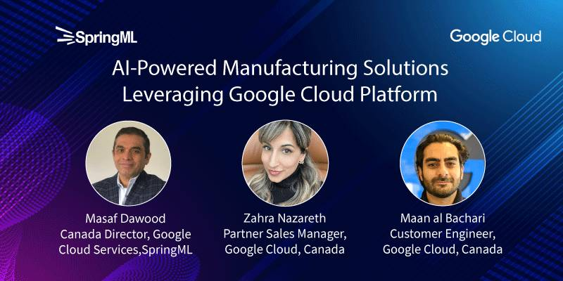 AI-Powered Manufacturing Solutions Leveraging Google Cloud Platform